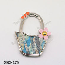 Lady Bag Hanger with Flower