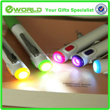 LED Light Logo Printing Ballpoint Pen