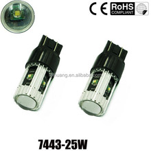 Factory Quality free replace t20 car led tuning light auto led bulbs t20 w21/5w 7443 led