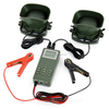 """1.3"""" LCD Bird Hunting Caller 50W Speaker - ABS Army Green"""