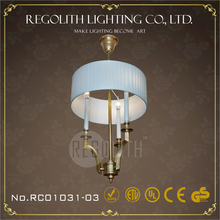 2015ทองแดงใหม่โคมไฟโคมระย้าสำหรับโรงแรมด้วยulcerohs