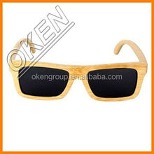 2015 fashionable trade assurance custom made bamboo wooden sunglasses for wholesale china