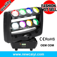 dmx512 rotation colorful stage spider 120w led moving head
