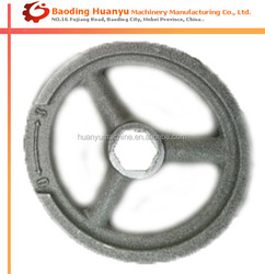 OEM Cast Iron Precoated Sand Casting Hand Wheel