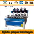 fresas para router para madera/máquina de router cnc de madera cílindra QD-1212-4