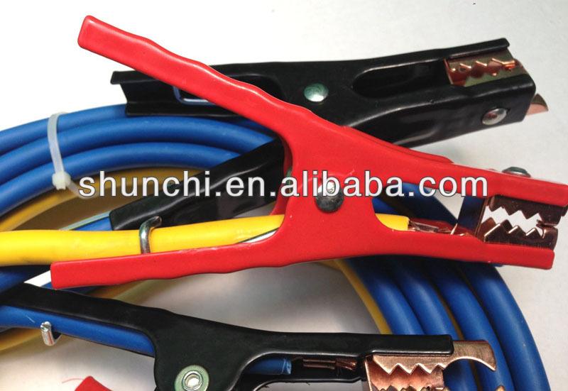 Super Jumper Cables : Super ft heavy duty amp gauge no tangle battery