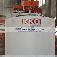 Industrial ovens for metal melting and heat treatment