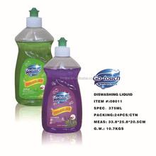Wholesale 375ml brands dishwashing liquid detergent soap