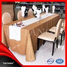 2015 new series Hot Sale factory price luxury table cover jute table cloth