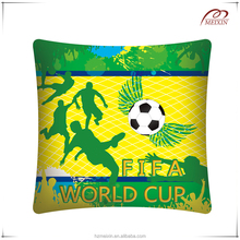 100% cotton football digital printing cushion cover