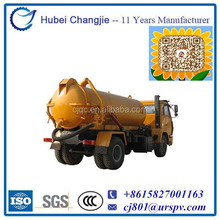 4*2/300HP/Diesel Fuel Type Vacuum Sewage Suction Truck for sale