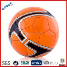 Wholesale laser PU best soccer ball brand