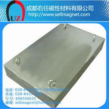 700*600*150mm permanent magnet plate/high gauss lifting magnet
