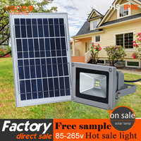high quality ip65 Waterproof ,with light induction control led solar flood light for garden