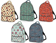 wholesale high school canvas backpack