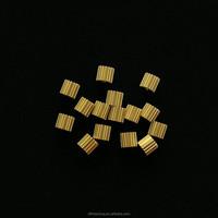Small module 0.5 copper spur gear
