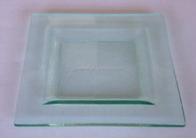 Square Glass Plate transparent glass switch transparent glass