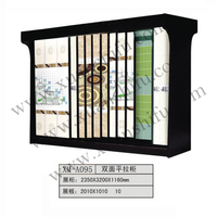 Ceramic tile display cabinet Microcrystalline background wall to reveal ark Product display