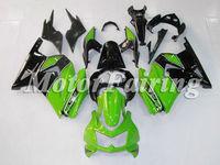for kawasaki 250r ninja ex250 ex 250 2008-2009 250 ninja motorcycle 08-09 ninja 250r accessories green black