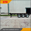Three Axles Extendable Container Transport Chassis