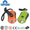 TOP Quality Portable Plastic LED Dynamo Flashlight No Batteries