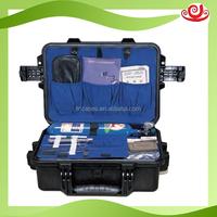 Hard plastic waterproof shockproof outdoor first aid kit box