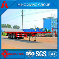 3 axles 40FT flatbed semi trailer for sales