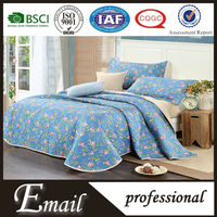 Cheap new cotton fabric stock lot bed sheet designs