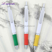 Plastic ball pen ad retracktable pull out new promotional plastic pen