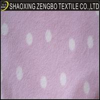 elegant snoopy fleece fabric with CE certificate