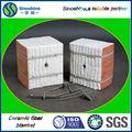 De haute résistance et faible conductivité thermique en Fiber de céramique plié Module
