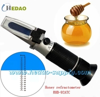 2015 handheld honey refractometer how to test honey quality