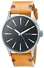 fresh new watch retro style fashion yellow band leather cheap custom business watch