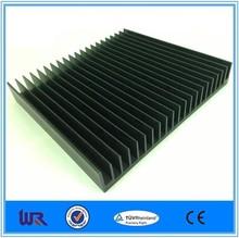 black anodizing extruded aluminum heatsink