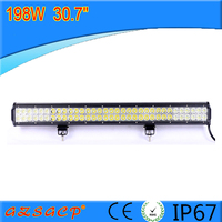 High Intensity 30.7 inch led bar light, 198w led light bar with factory price