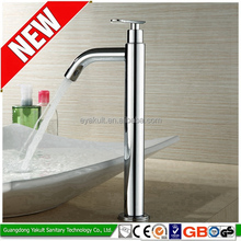 Hot sale china high standard brushed face basin faucet