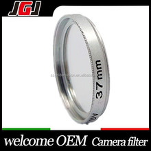 Hot sale Silver 37mm UV Filter for digital camera lens for Olympus for Sony for Nikon