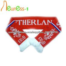 Moda barato bufanda bufanda fútbol partidarios