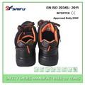 Caliente- la venta sf8221 negro de corte bajo Botas para trabajar