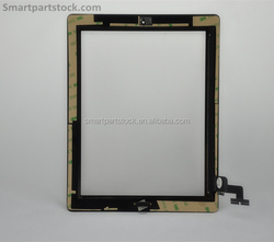 Top Quality Half Assembly Touch Screen Digitizer Glass For iPad 2
