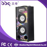2015 New colorful lights woofer speaker price