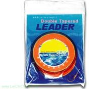 Double tapered leader fishing line