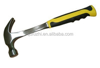 American type full polished Claw hammer with steel handle