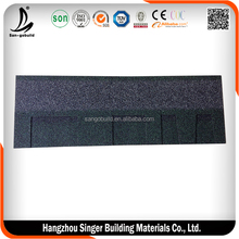 Best quality aluminum zinc steel roofing tile installations, hot sale roofing tiles in china