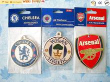 new gift promotion badge shaped car air freshener