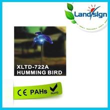 Solar Hummingbird Garden Stake Color Change Light