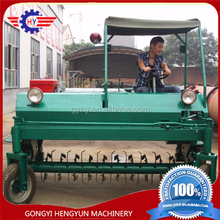 poultry manure compost turner for cow/pig chicken manure