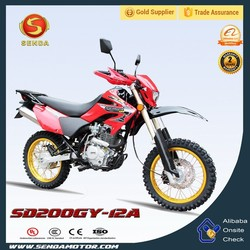 Cross Bike 200cc,Dirt Bike 200cc Made in Chongqing Hongbao Motorcycle and Parts Manufacturing Company SD200GY-12A