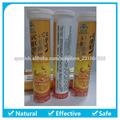 OEM / ODM La vitamina C + calcio comprimido efervescente