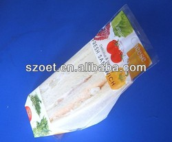 Plastic sandwich bag printing, plastic OPP sandwich packaging bag